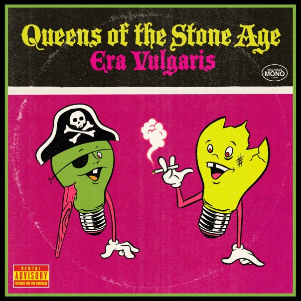 Image result for queens of the stone age era vulgaris album