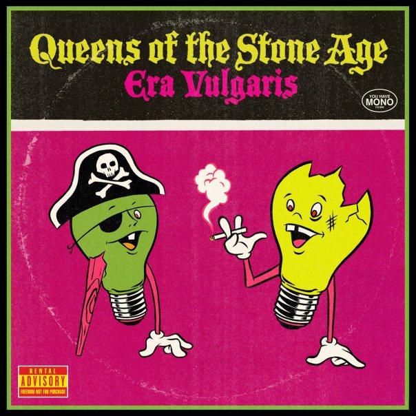Image result for queens of the stone age era vulgaris album